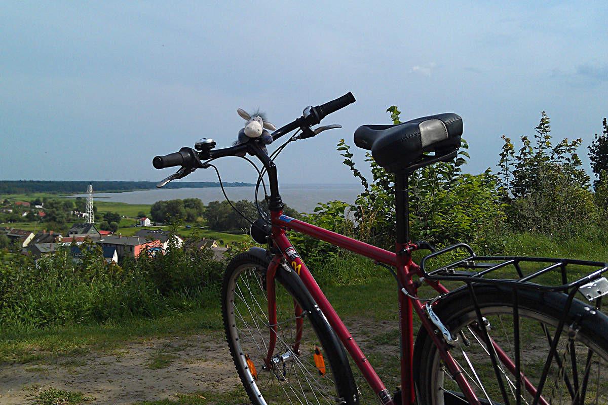 Ein Leihfahrrad auf Usedom
